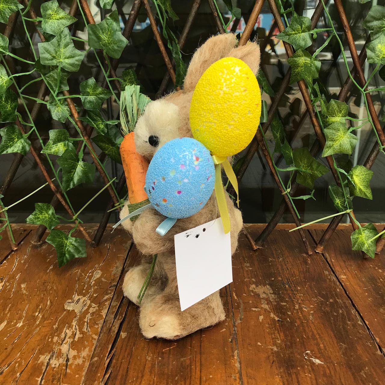 Coelho Rústico com Cenoura e Balão