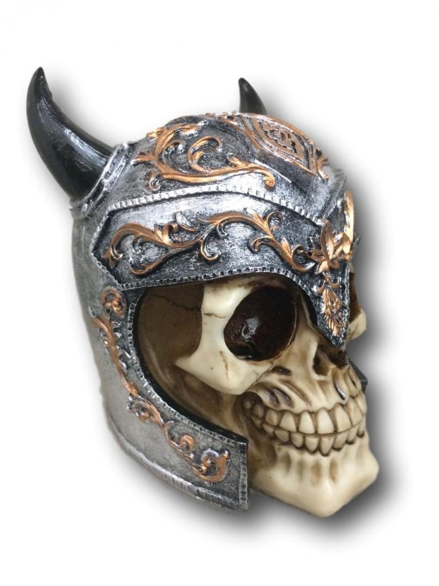 Cofre Vikings Caveira Chifres