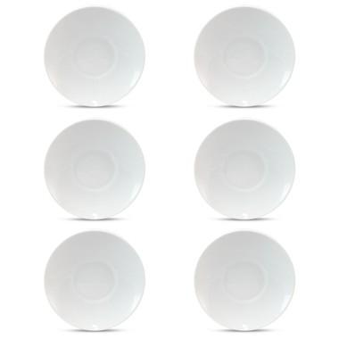 Conjunto de Xícaras para Cafe com Pires em Porcelana