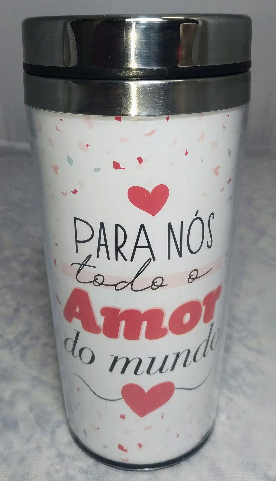 Copo Alumínio Amor