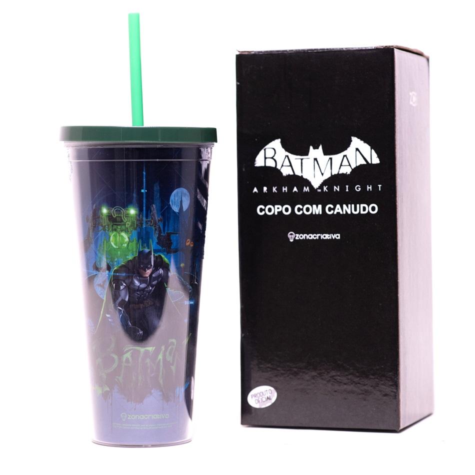 Copo Canudo Batman 650ml - Zona Criativa
