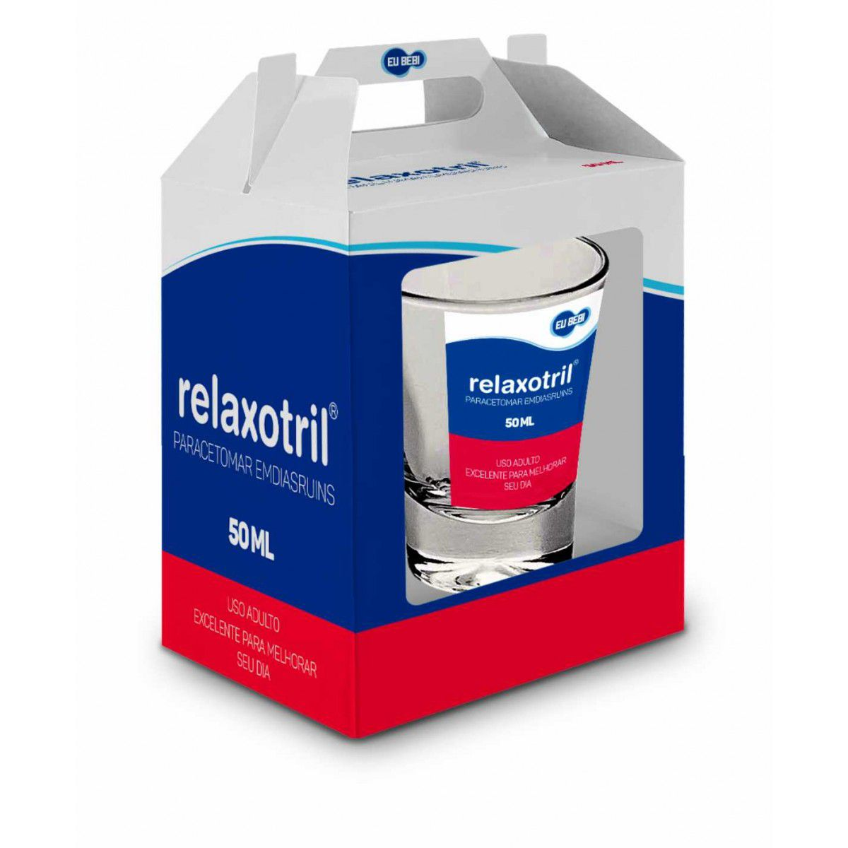 Copo Dose Individual Remédio Relaxotril