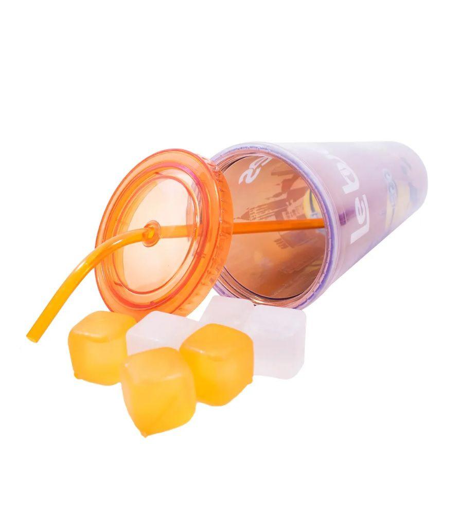 Copo Minions Com Cubos De Gelo Le Buddies 600ml