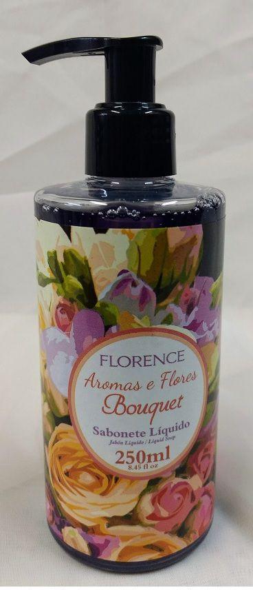 Estojo Sabonete Líquido com Loção Hidratante Bouquet