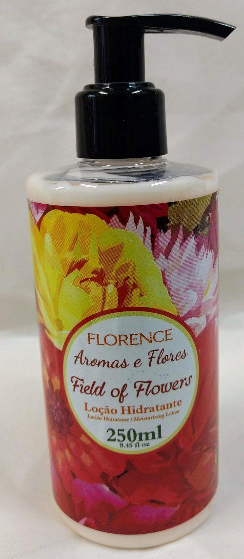 Estojo Sabonete Líquido com Loção Hidratante Field of Flowers