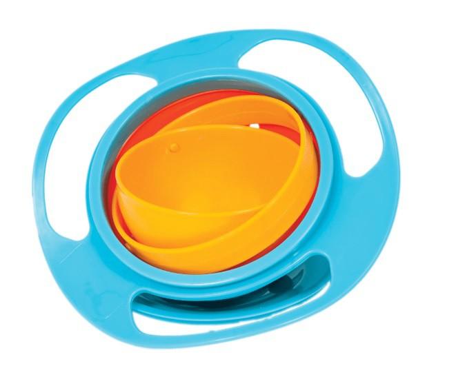 Giro Bowl Azul Buba Pratinho Magico Giratorio Para Crianças