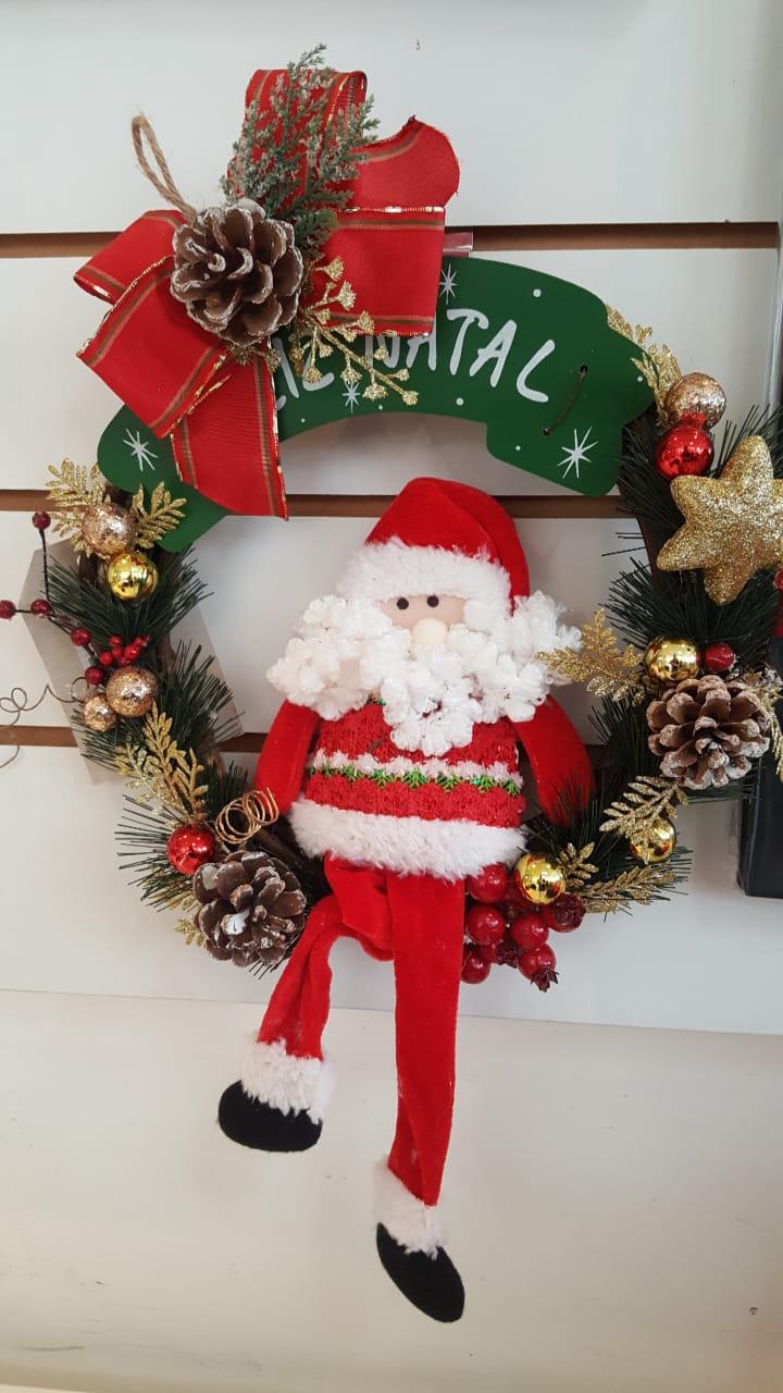 Guirlanda Papai Noel Feliz Natal