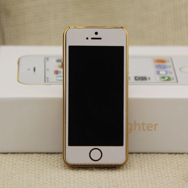 Isqueiro Elétrico Modelo Iphone Recarregável no USB