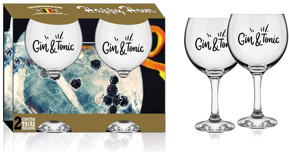 Jogo 2 Taças de Gin Tônica Font 600ml - H.Martin