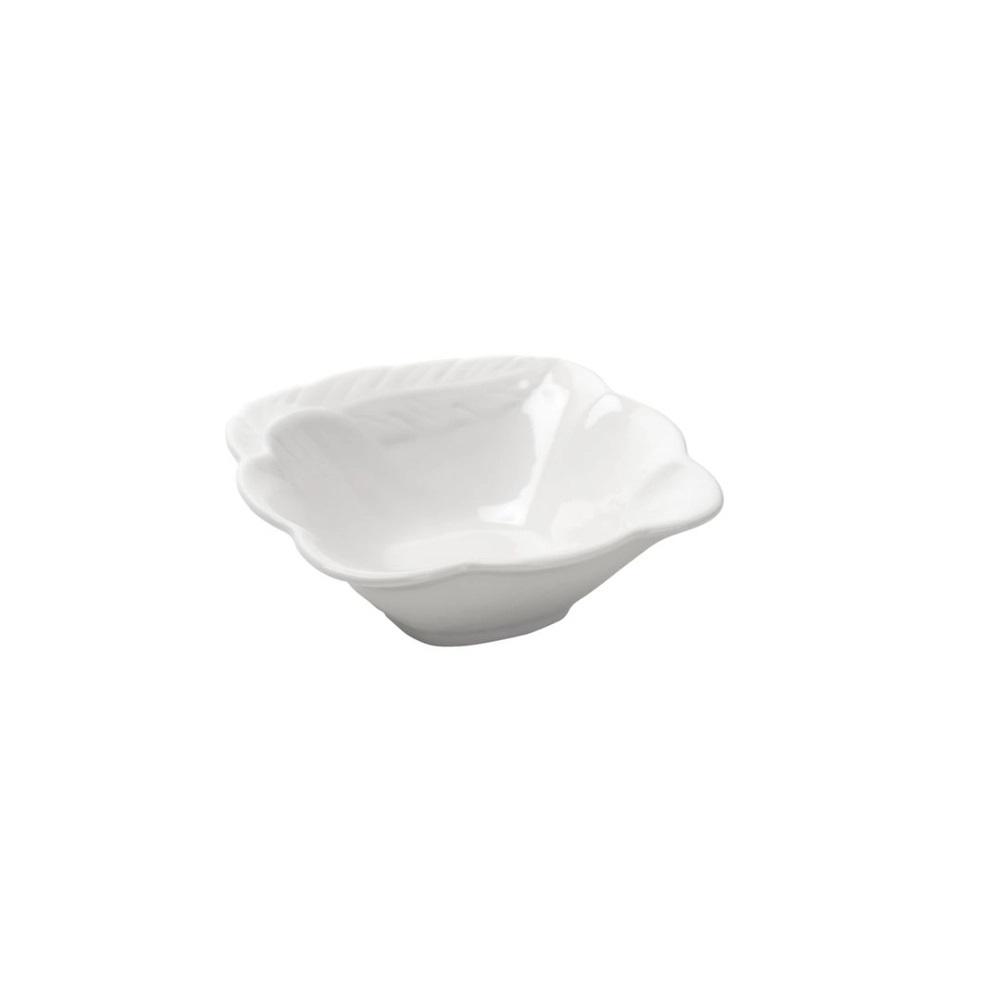 Jogo 4 Bowls de Porcelana Brancos - Bon Gourmet