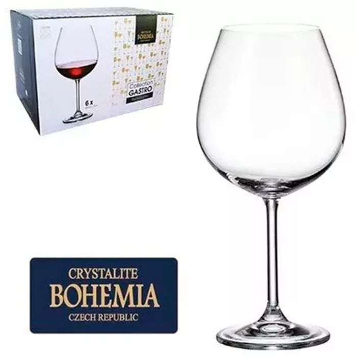 Jogo 6 Taças 650ml Bohemia