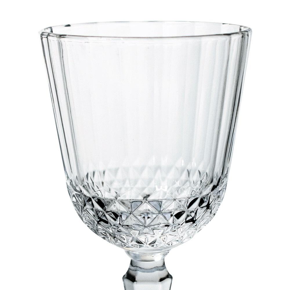 Jogo 6 Taças de Vidro 300ml  Transparente Classic - Casambiente