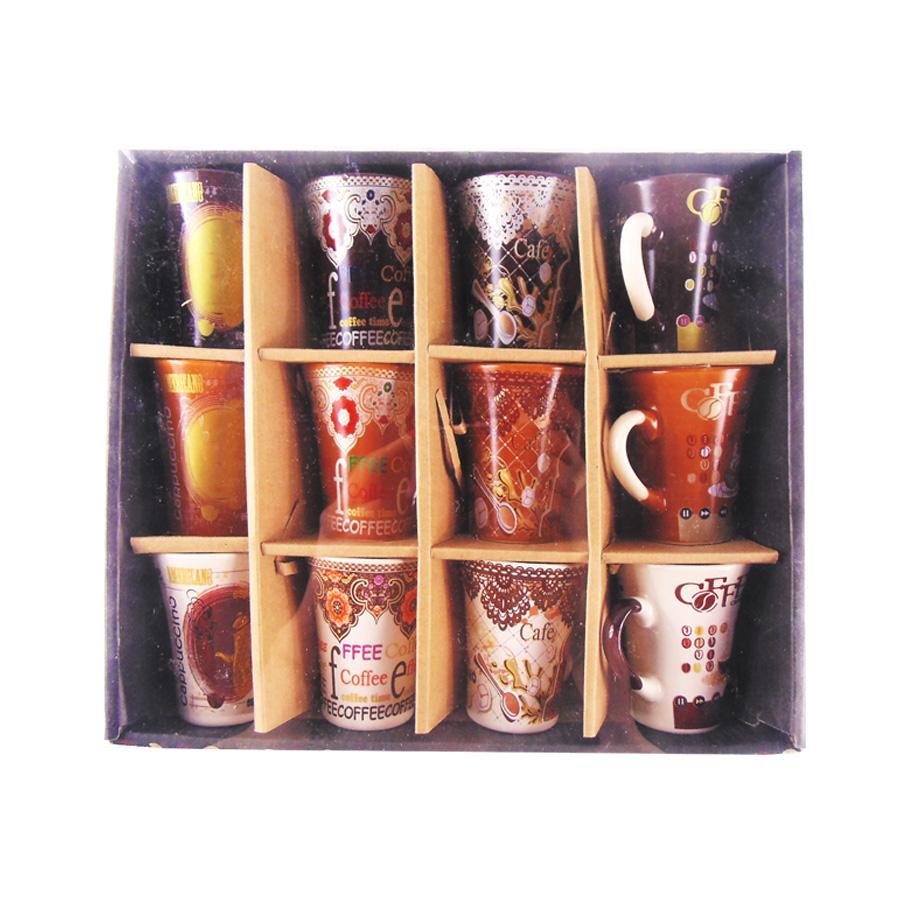 Jogo de Xícara de Cerâmica para Café Cappuccino