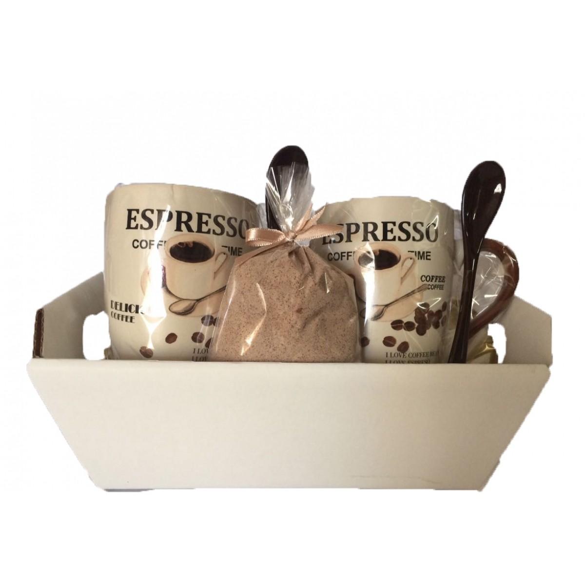 Kit Café da Manhã com 2 xícaras