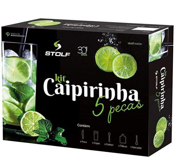 Kit Caipirinha com 5 Peças - Stolf