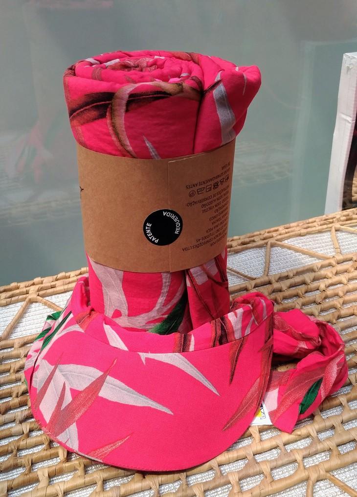Kit Canga Toalha e Viseira - Tie-Dye