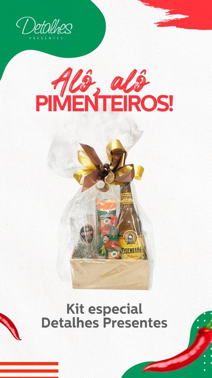 Kit Especial Pimenta Mamonas Assassinas