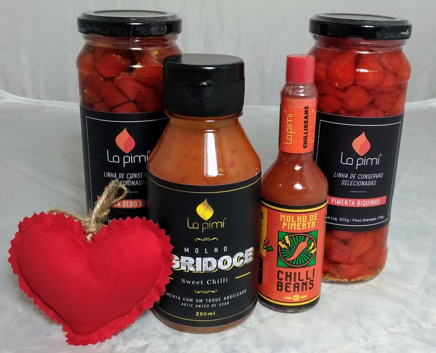 kit Pimentas - Namorados