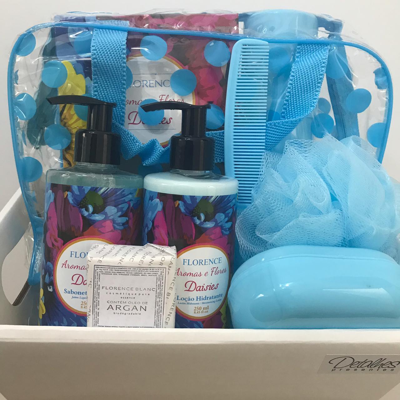 Kit Sabonete Liquido e Hidratante Aroma Daisies