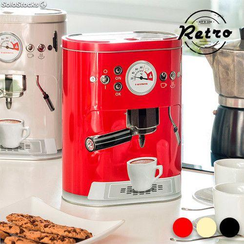 Lata Tamanho G Vermelha para Cápsulas de Café ou Café em Pó