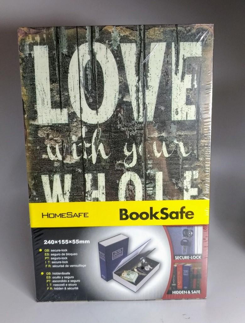 Livro Cofre G 24x15,5x5,5cm