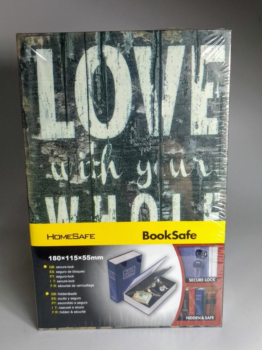 Livro Cofre M 18x11,5x5,5cm