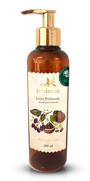 Loção Perfumada Amora e Castanha 300ml - Jordanie