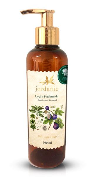 Loção Perfumada Café Verde e Figo 300ml - Jordanie