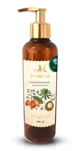 Loção Perfumada Caju e Água de Coco 300ml - Jordanie