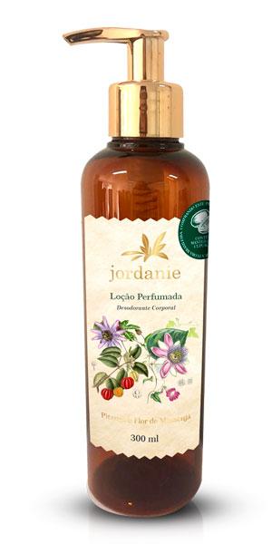Loção Perfumada Pitanga e Flor de Maracujá 300ml - Jordanie