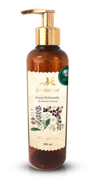 Loção Perfumada Sálvia e Jabuticaba 300ml - Jordanie