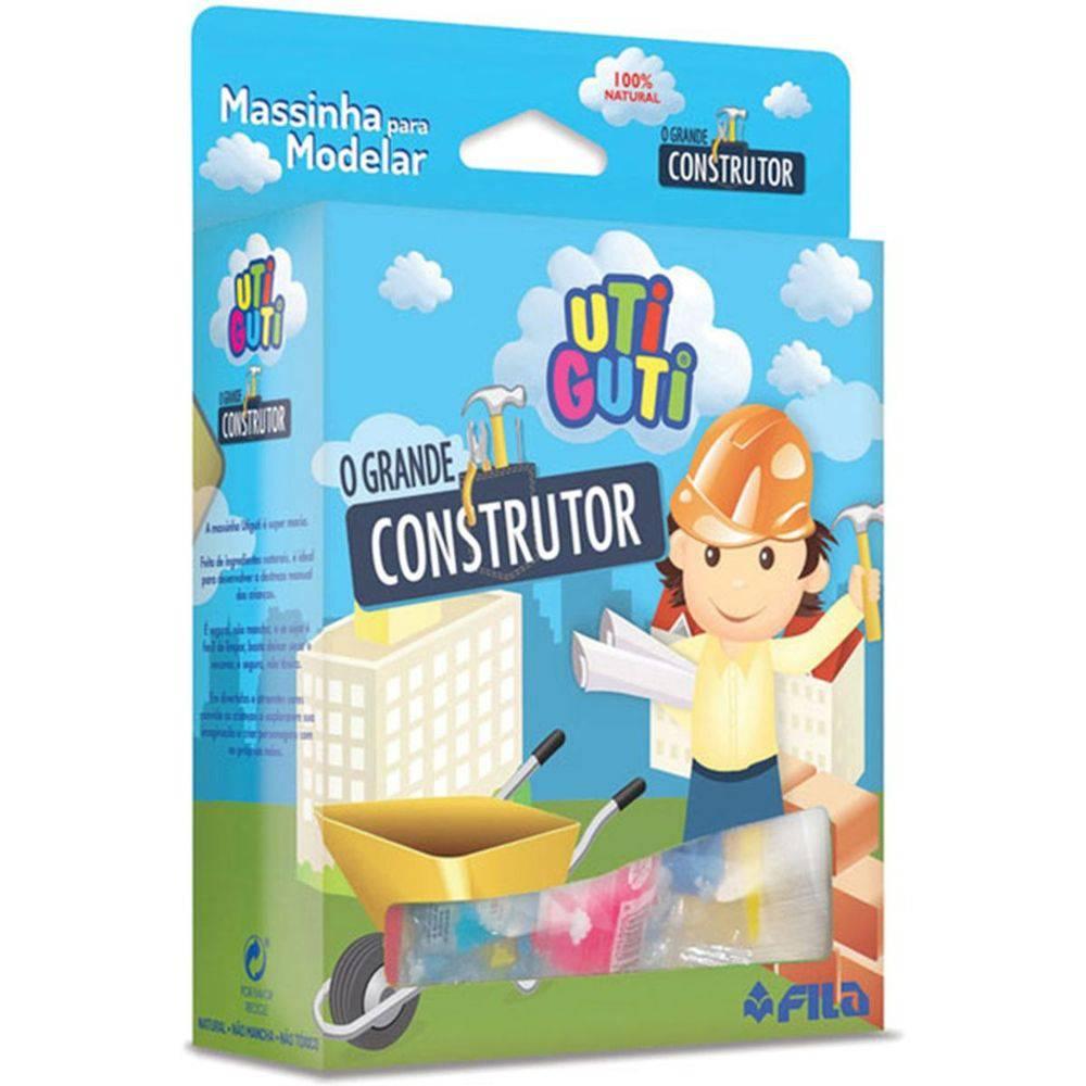 Massinha Construtor 9 Peças