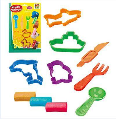 Massinha Modele E Brinque 10 peças