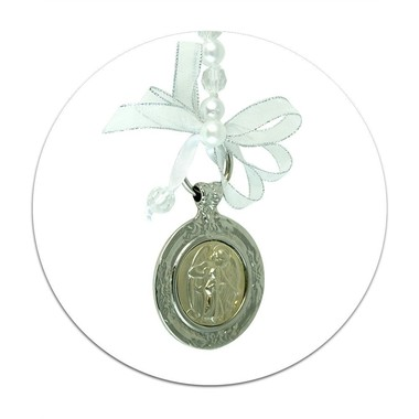Mobile para Berço Medalhão Anjo da Guarda Anjo Protetor