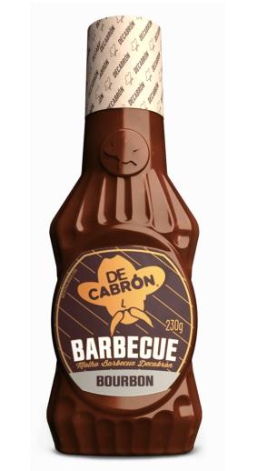 Molho Barbecue Bourbon 230g - Decabrón
