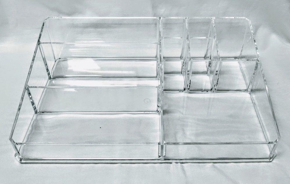 Organizador de Cosméticos de Plástico com 4 Divisórias 33cm