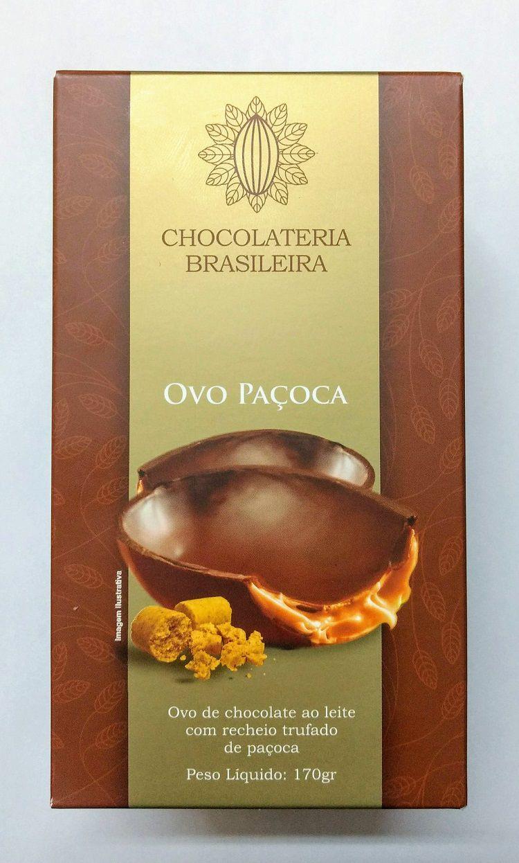 Ovo de Páscoa de Paçoca 170g