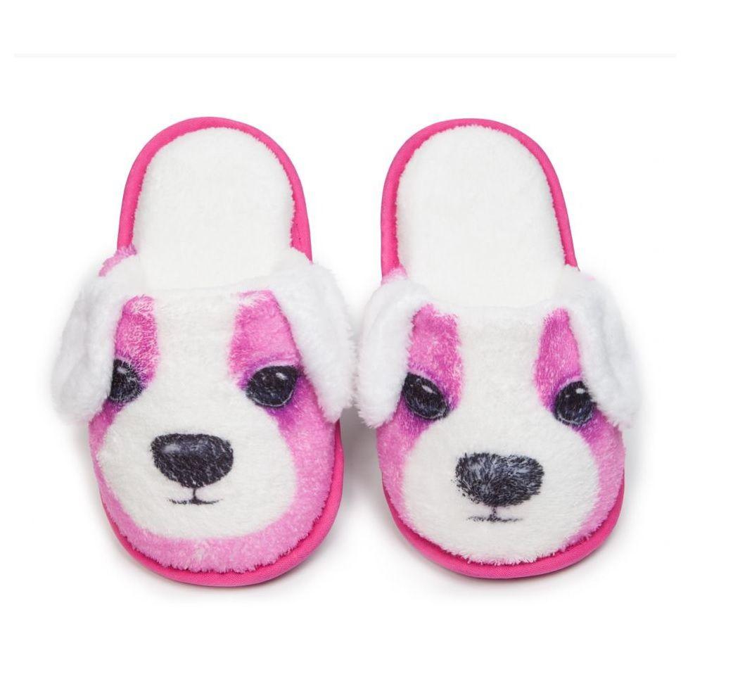 Pantufa Cachorro Pink 37/38