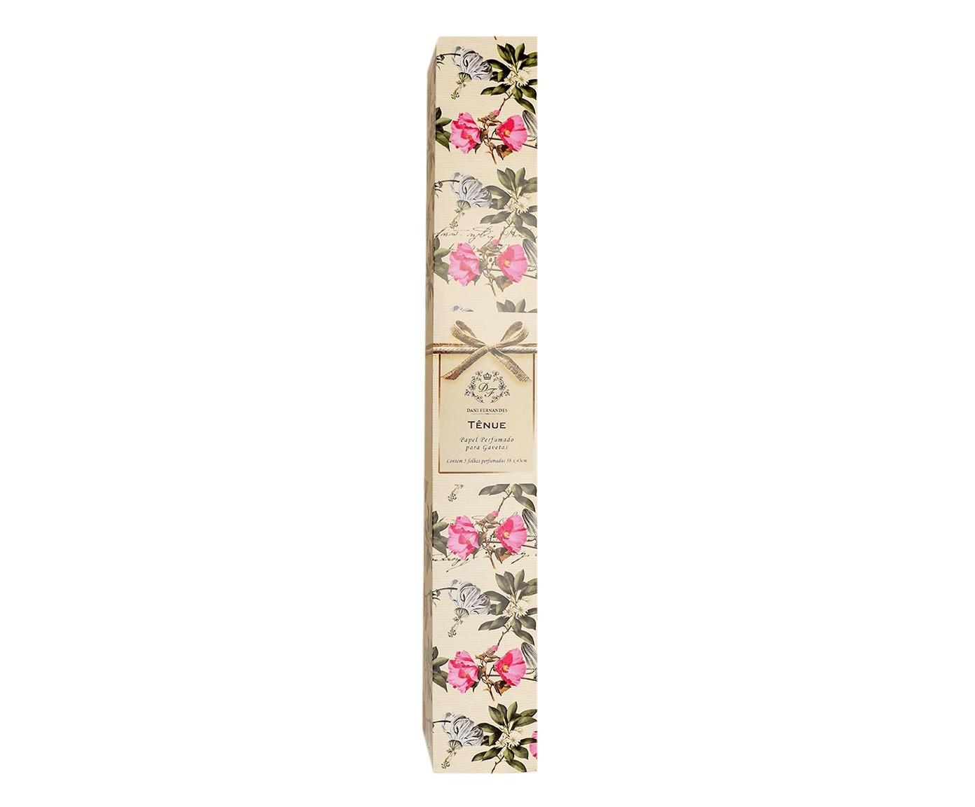 Papel Perfumado para Gavetas Aromas Tenue - 46X6X6cm