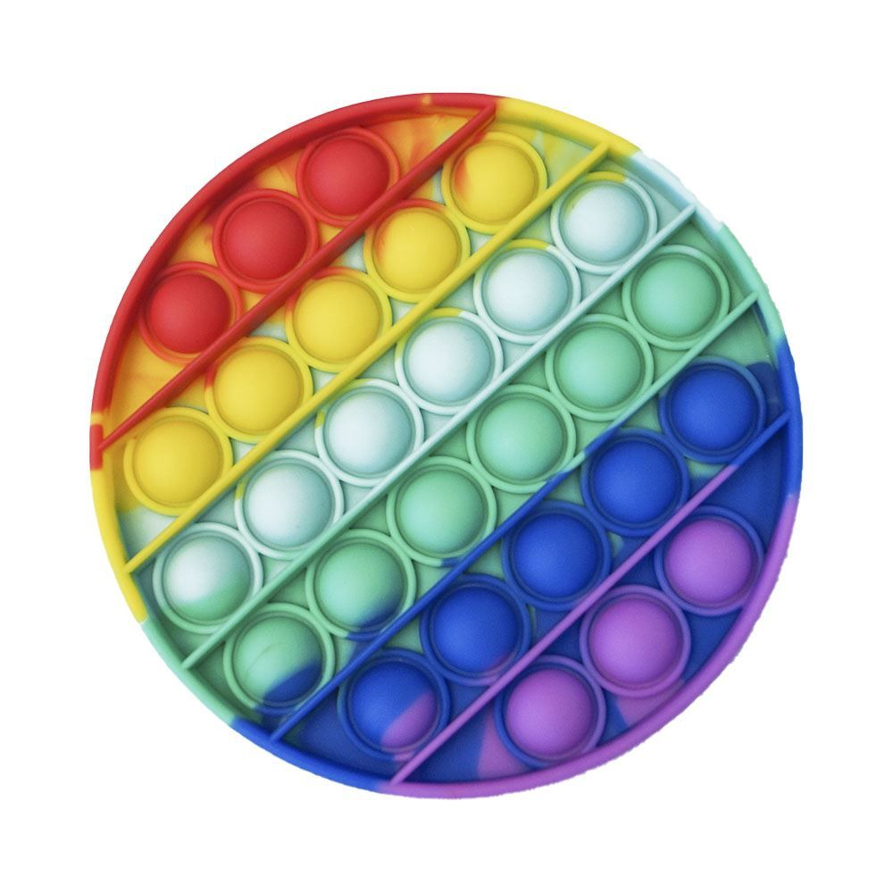Pop It Círculo Arco-Íris 13Cm - Yes Toys