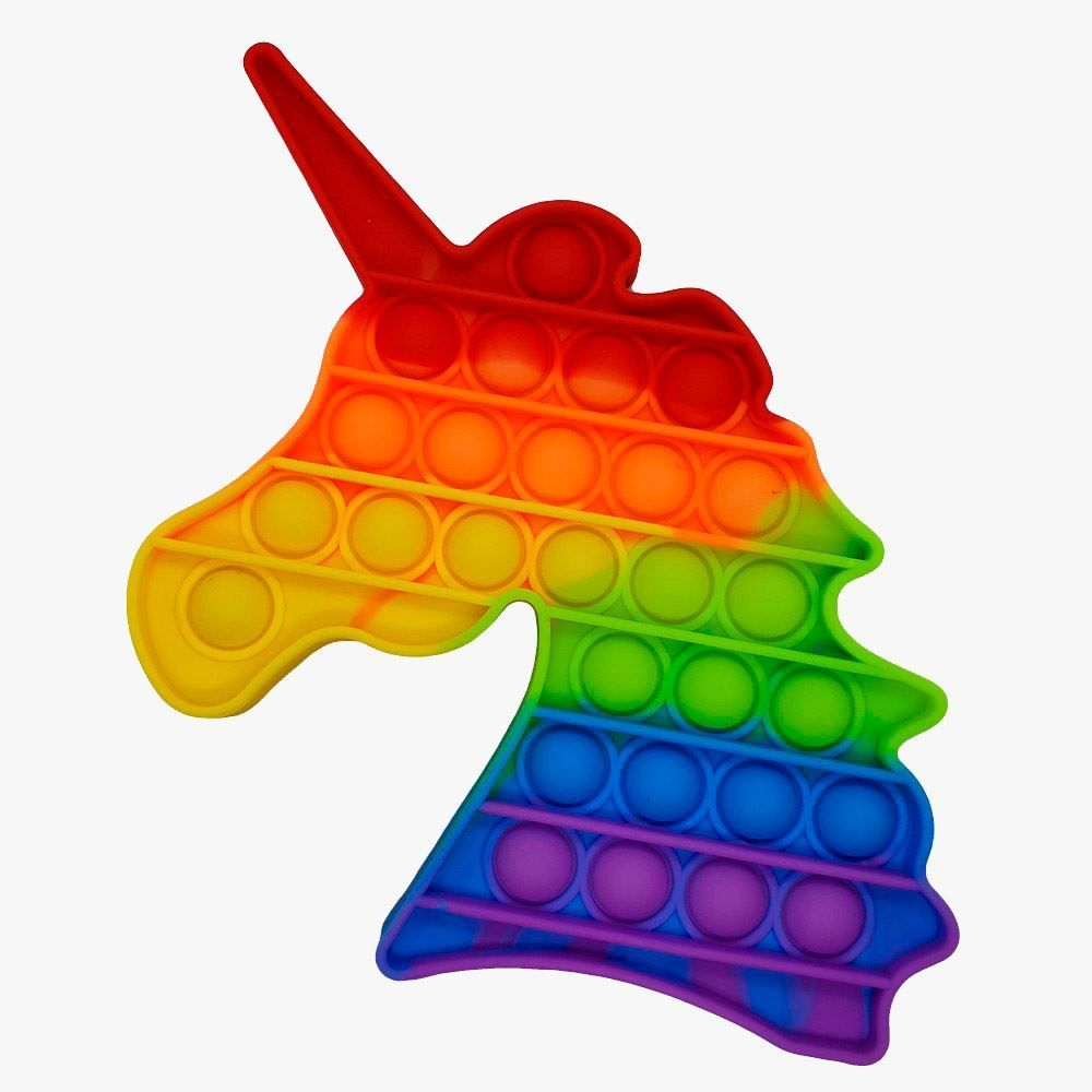 Pop It Unicórnio Arco-Íris 13Cm- Yes Toys