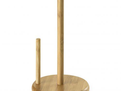 Porta Papel Toalha Bambu