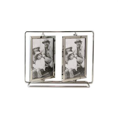Porta Retrato Giratório para 4 Fotos 10x15cm