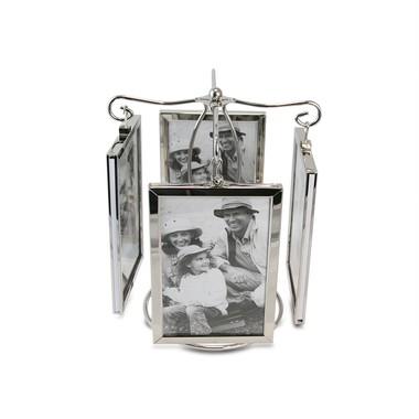 Porta Retrato Giratório Vertical para 8 Fotos 10x15cm