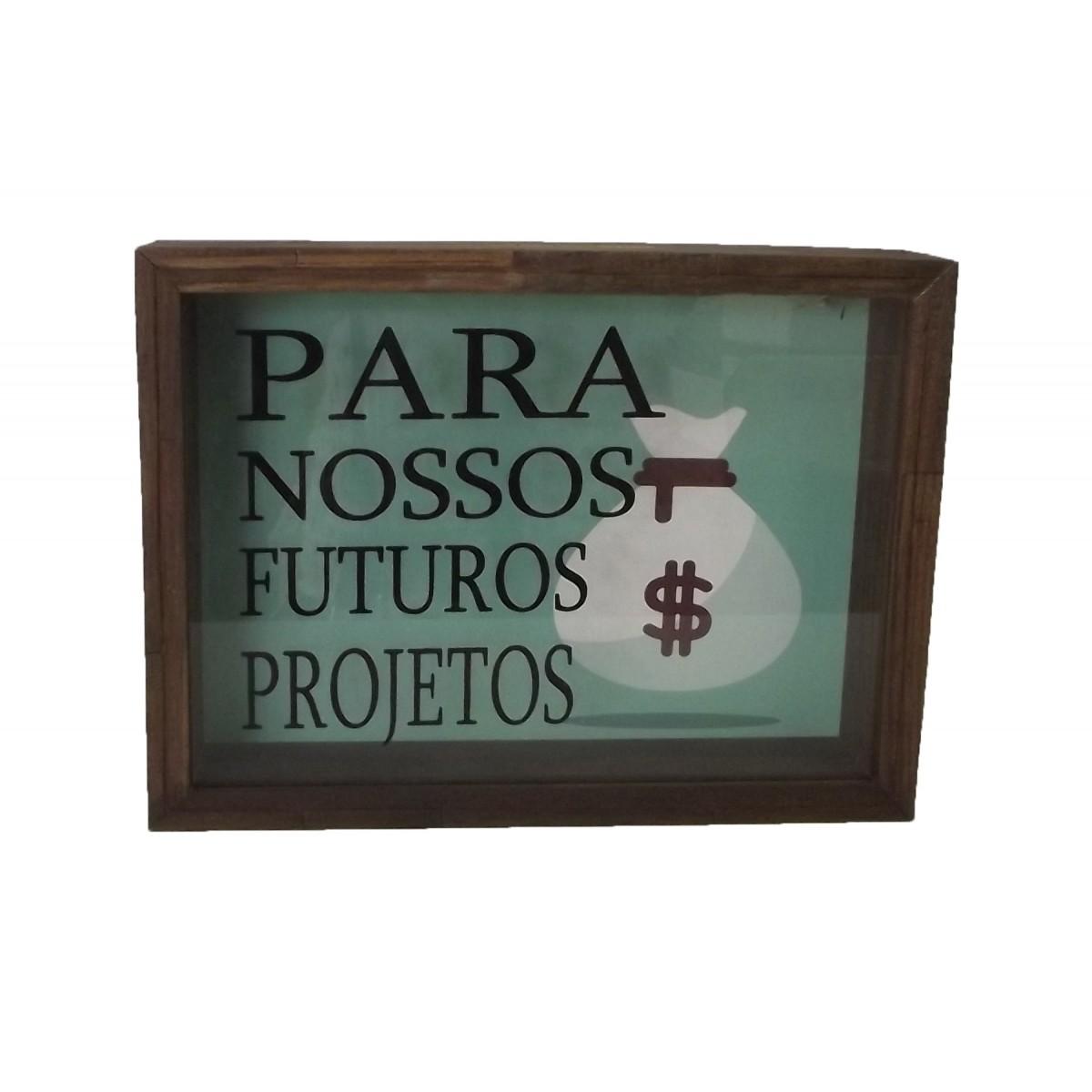 Quadro Cofre 21x15 cm Para futuros Projetos