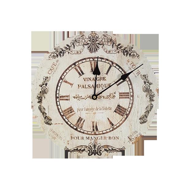 Relógio De Parede Modelo Rustico 30cm