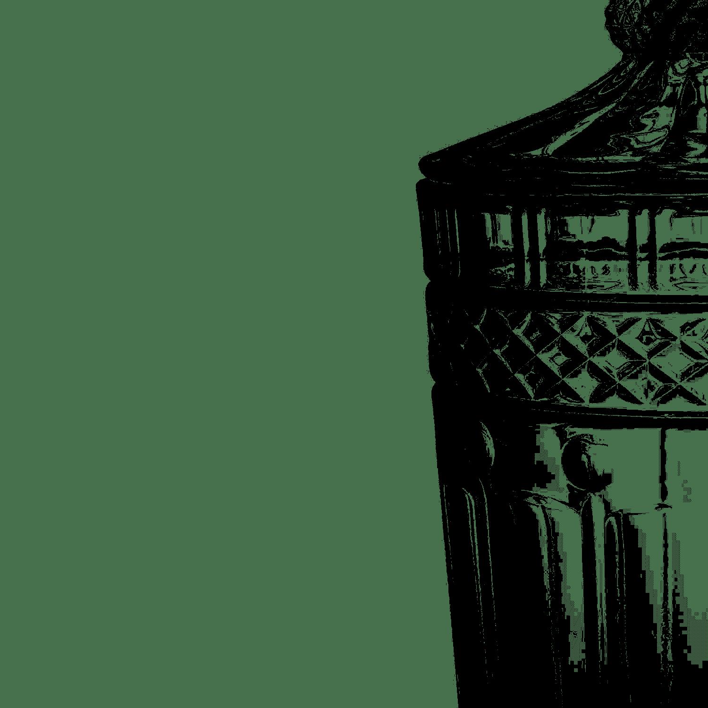 Suqueira de Cristal 3 Litros com Pé Brandon Wolff