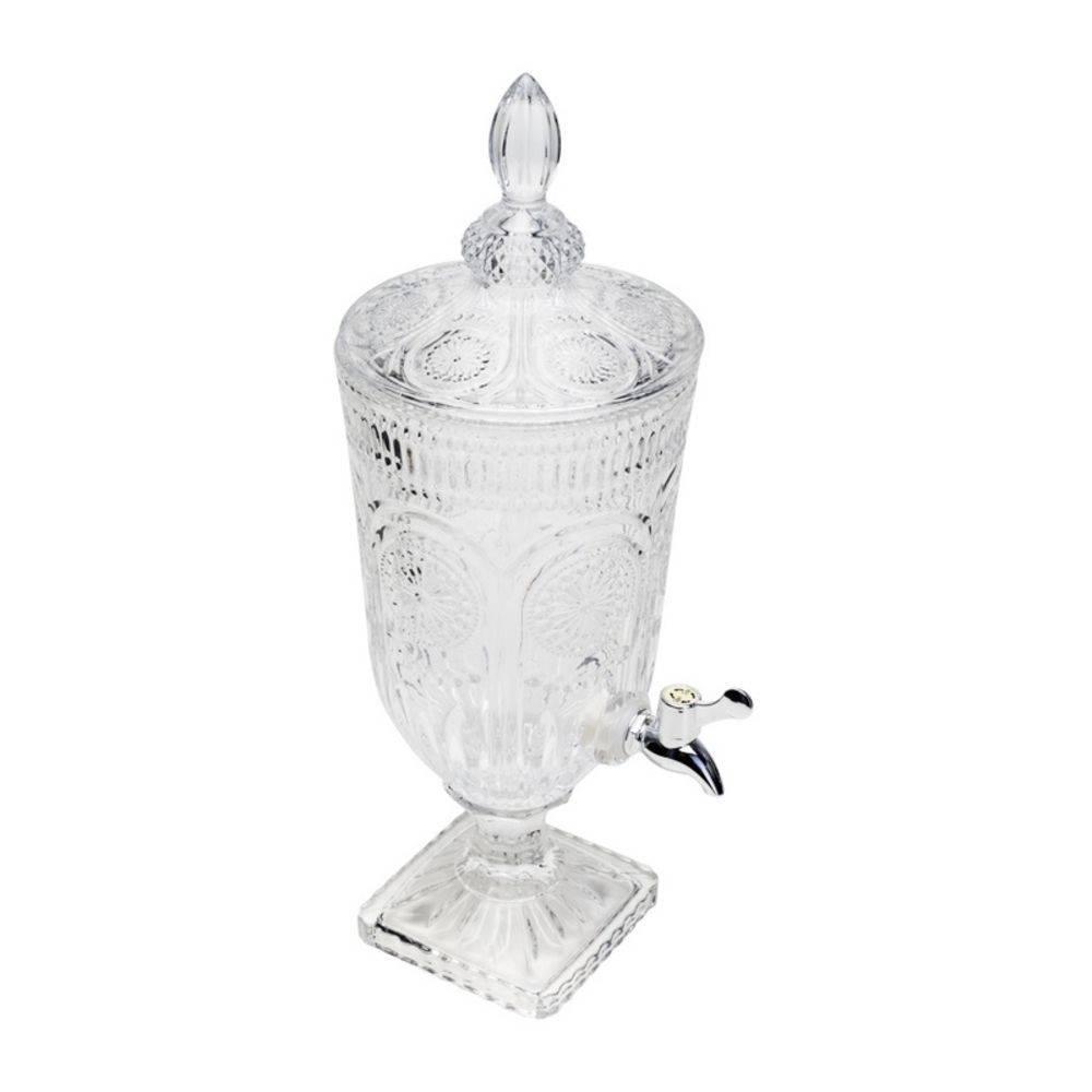 Suqueira de Cristal com Pé Aubusson 3L
