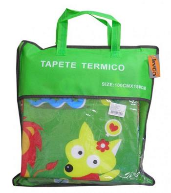 Tapete de Atividades Infantil Térmico com Sacola 90x120cm