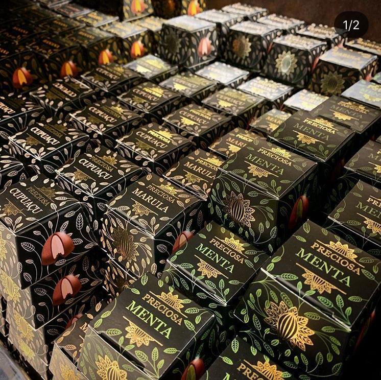Trufa Paçoca 27gr Chocolateria Brasileira